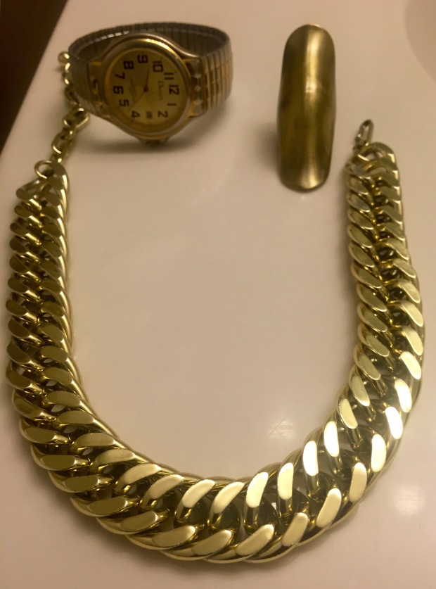 gold watch ring necklace blaque coffee blog accessories