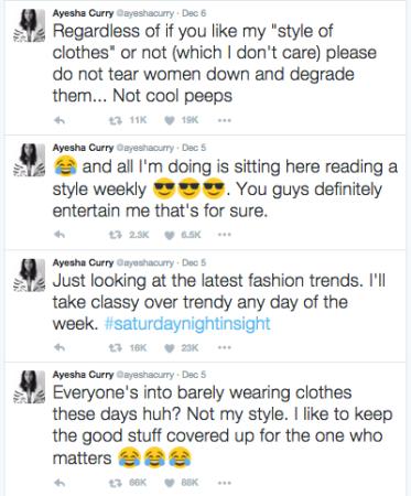 Ayesha Curry Tweets Twitter blaque coffee blog