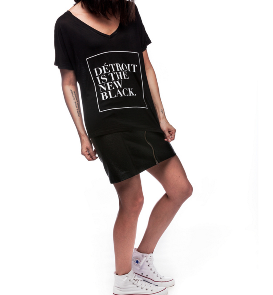 Detroit Is The New  Black Tee Blaque Coffee Blog