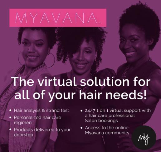 myavana hair co blaque coffee blog