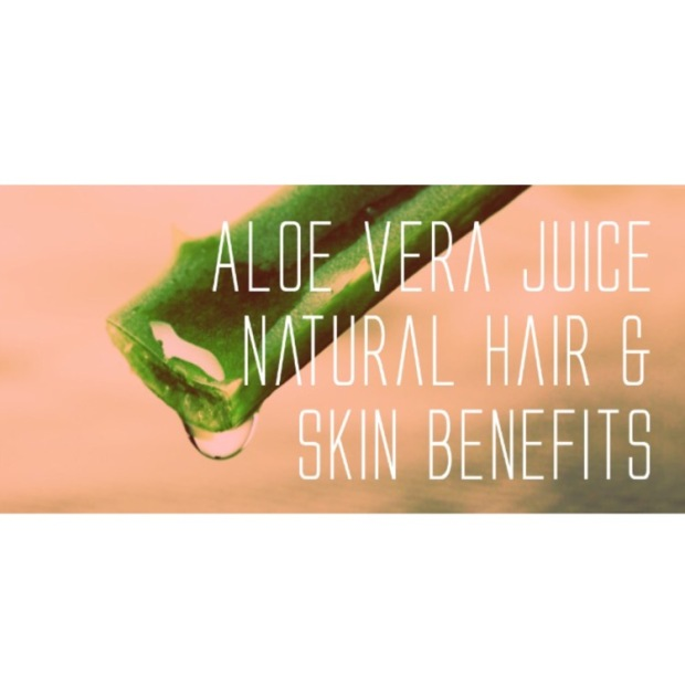 aloe vera juice natural hair skin blaque coffee blog