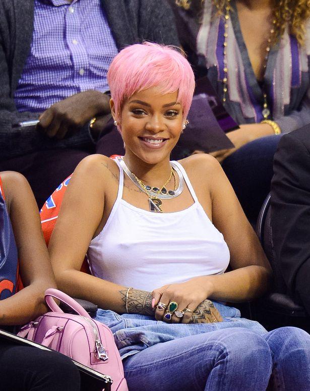 Rihanna-pink-hair-sheer-white-top-nipples-blaque-coffee-blog